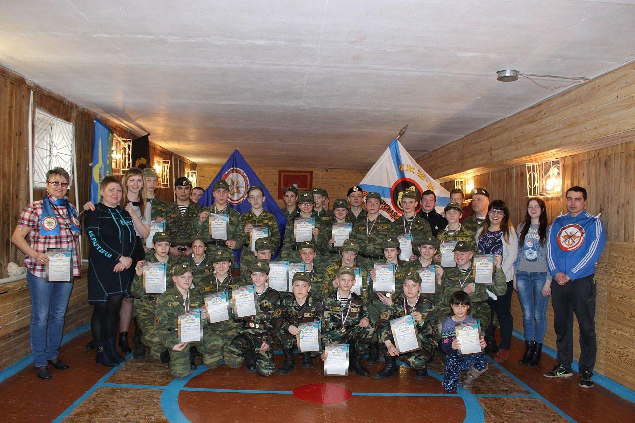 Участники квеста Крымские подвиги
