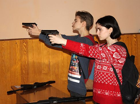 Этап стрельбв в тире квест Крымские подвиги