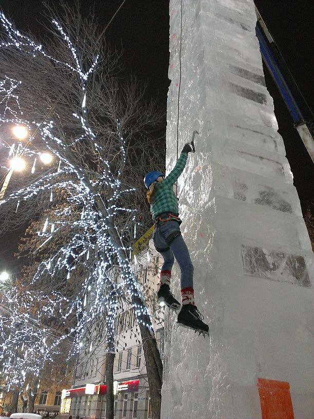 Соревнования на скорость Ледовый штурм 2017